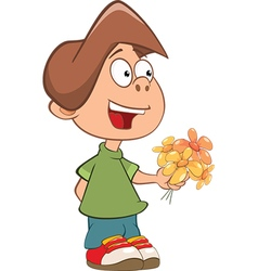 Cute Little Boy vector image