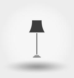 floor lamp icon vector image vector image