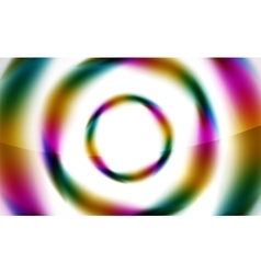 Glossy blurred swirl circle shapes abstract vector
