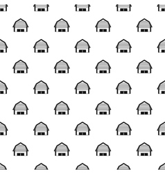 High garage pattern simple style vector