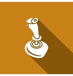 Joystick icon vector image vector image