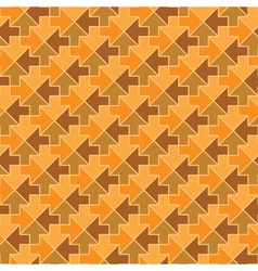 Vintage arrows seamless pattern vector