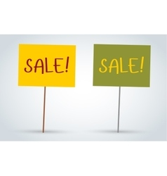 Sale off board banners vector