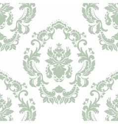 Floral ornament pattern with stylized centered vector