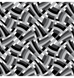 geometric labyrinth vector image vector image