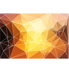 Yellow coral pink black geometric background with vector
