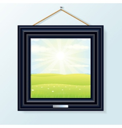 Artwork picture frame vector