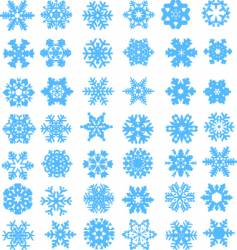 snow design vector image