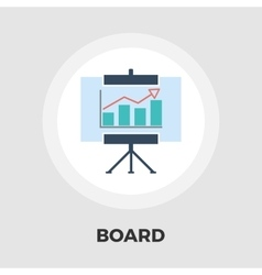 Board flat icon vector