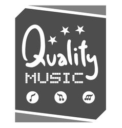 quality symbol vector image