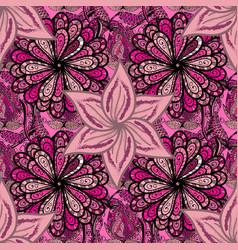 Seamless pattern fashionable fabric pattern cute vector