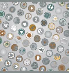 art caps vector image