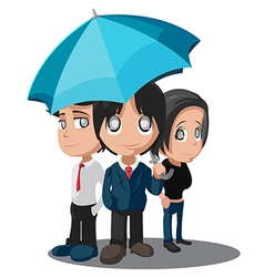 Business Worker Cartoon Characters Group vector image vector image