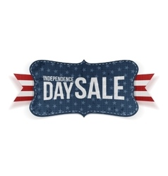 Independence Day Sale patriotic Banner vector image vector image