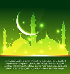 Ramadan and eid background vector