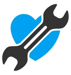 Heart surgery icon vector