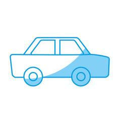 pictogram car icon vector image vector image