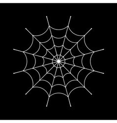 Spider web sign vector