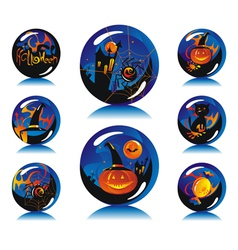 Magic balls vector