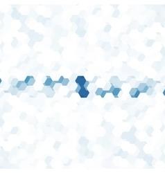 abstract color 3d hexagonal vector image