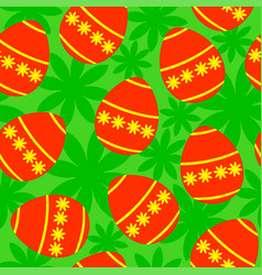 Easter background seamless vector