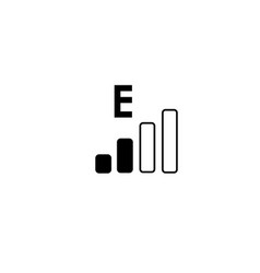 Edge network icon vector