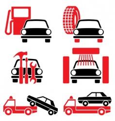 auto service vector image