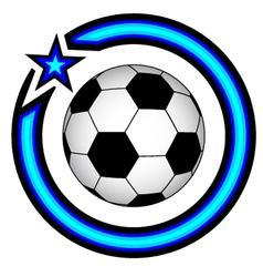 Soccer symbol vector
