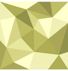 Green triangle flat mosaic background or pattern vector