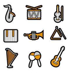 instrument icon vector image vector image