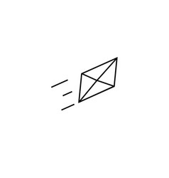 sent mail icon vector image