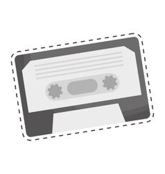 video cassette icon image vector image