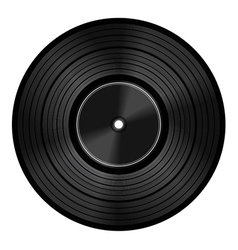 Vinyl audio disc vector image