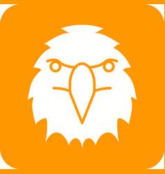 Eagle face vector