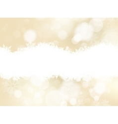 Elegant gold christmas background eps 10 vector