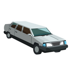 limousine icon image vector image vector image
