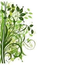 Plant design vector