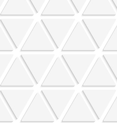 White triangular simple seamless vector