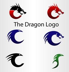 The Dragon Logo vector image