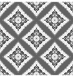 Abstract seamless folkloric ornamental design vector