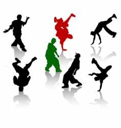 hip-hop vector image vector image