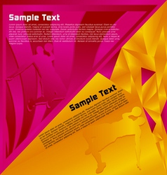 modern abstract vector image