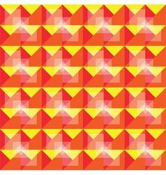Retro seamless warm pattern vector
