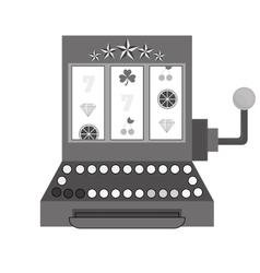 Casino related icons image vector