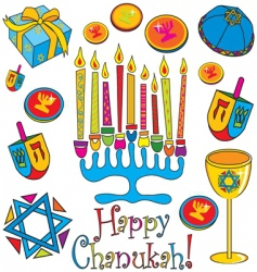 happy ChanUKah vector image
