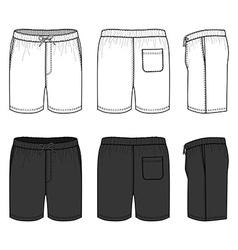 Swimpants vector image vector image