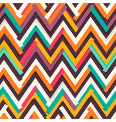 Chevron uneven pattern vector