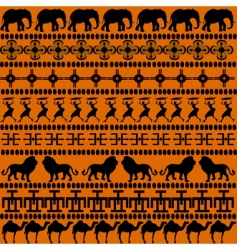 African motives vector image vector image