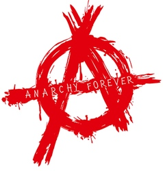 anarchy forever vector image
