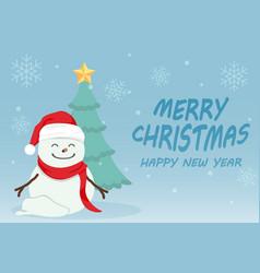 Merry christmas 03 vector